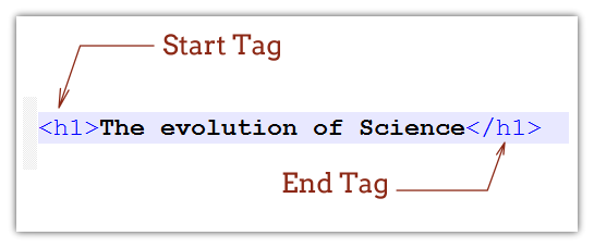 html tag example