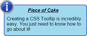 tooltip design