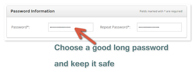 choose good password