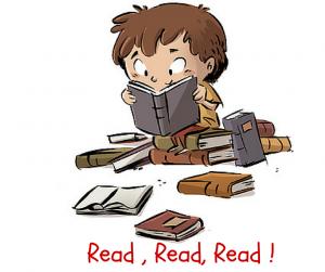 read a lot