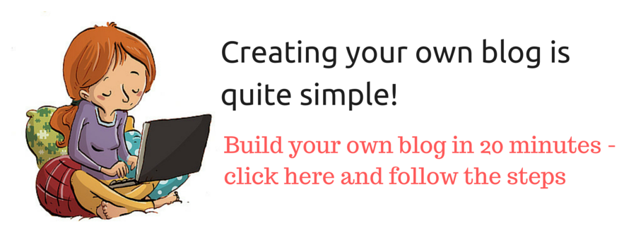 create your own blog 1