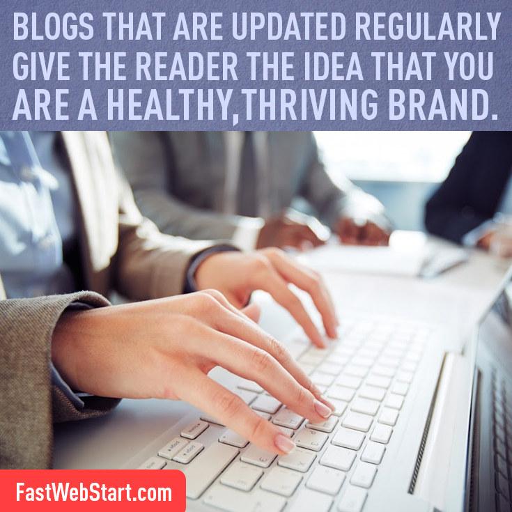 update blog regularly