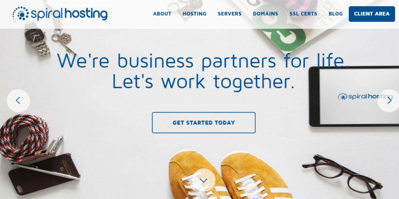 web hosting ireland - spiralhosting